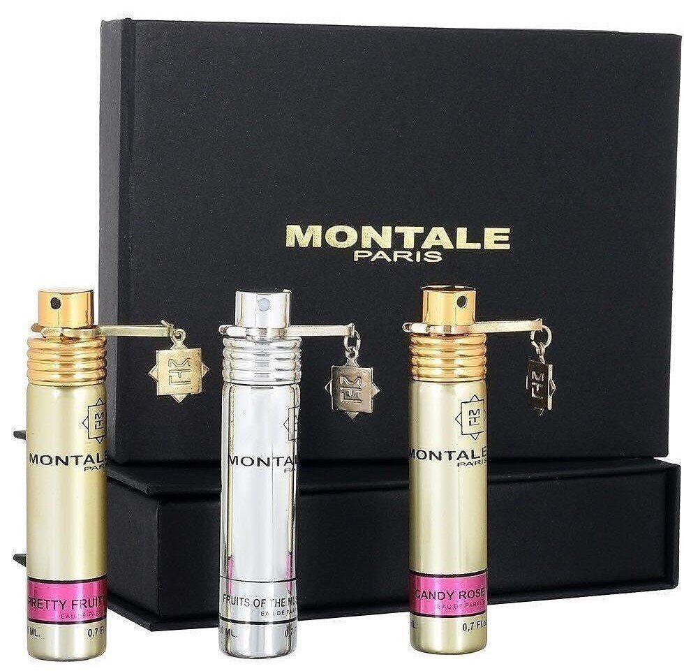 Набор Montale (Pretty Fruity- Fruits of the Musk - Candy Rose) парфюм 3х20 мл.
