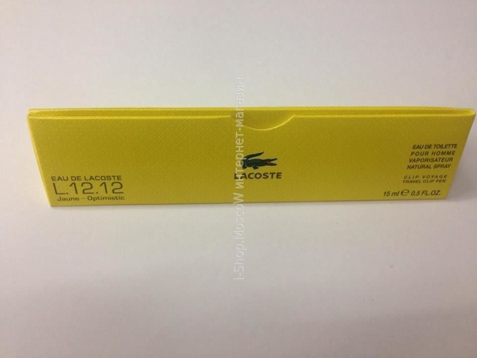 LACOSTE 12.12 Jaune-Optimistic 15ml
